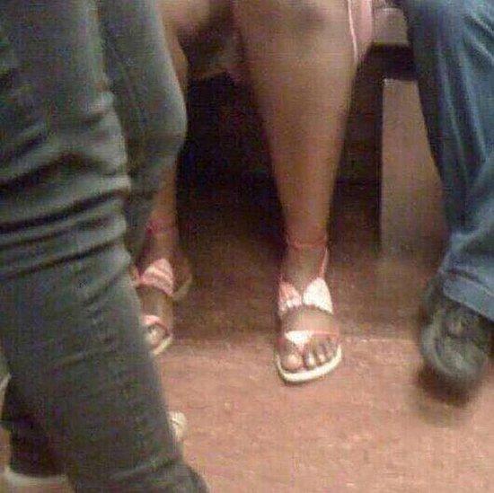bikini feet