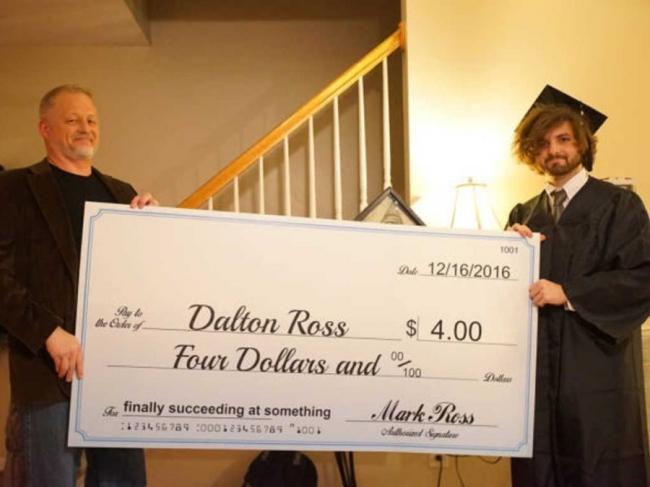 Congratulations Dalton